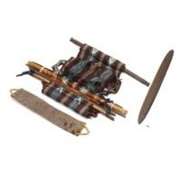 Ifugao loom and leather strap