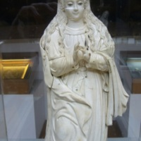 Hispanic-Philippine ivory Inmaculada