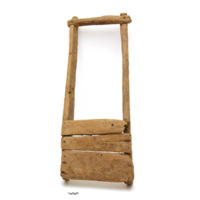Ifugao weaver's seat