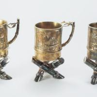 Set of Cups (Nipa Huts)