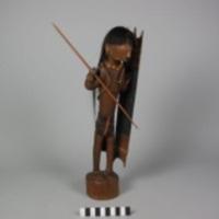 Wooden Sculpture ( Warrior)