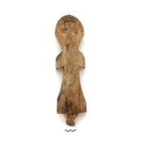 Sulu grave marker. Figurine