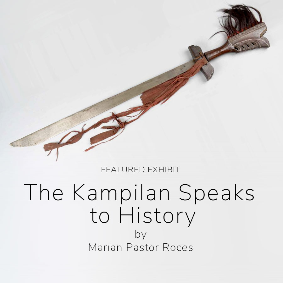The kampilan speaks to history