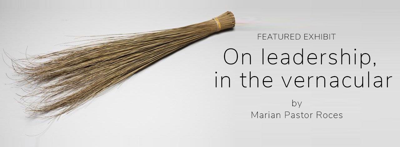 On leadership, in the vernacular